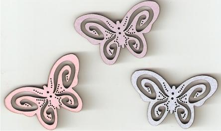 Lacy butterflies
