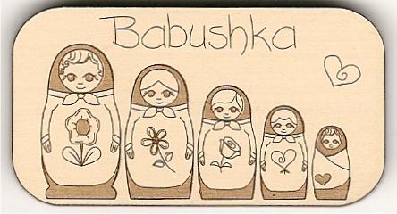 Babushkabrooch